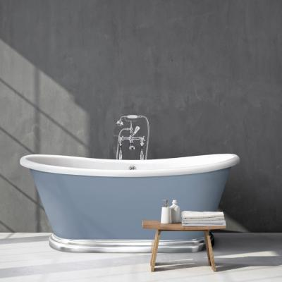 Boat Bath Chrome Plinth