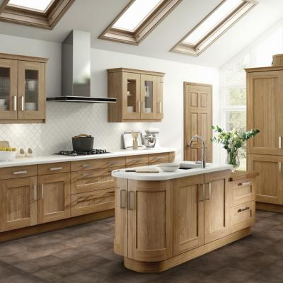 Solid Oak Range
