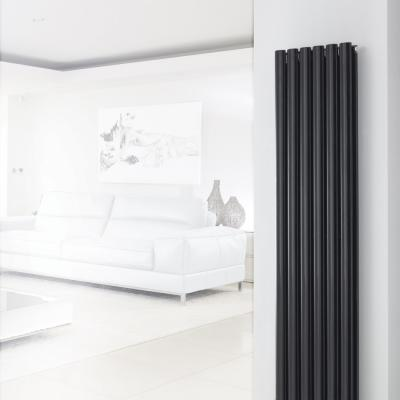Double Tube Radiator Black