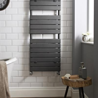 Horizontal Slat Radiator Anthracite