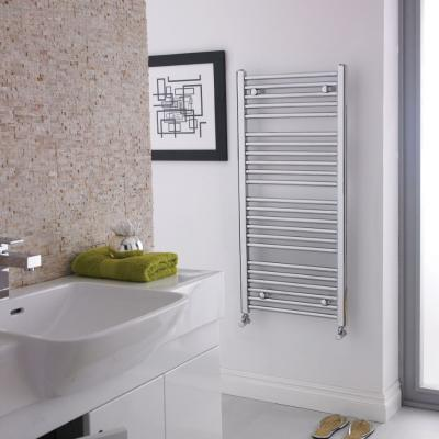 Towel Radiator Chrome White And Anthracite