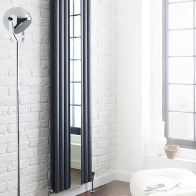 Tube Radiator With Inset Mirror